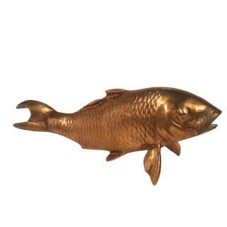 Brass Koi Fish Objet