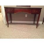 Image of Rway Northern Furniture Mahogany Vanity Desk