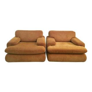 Vintage Roche Bobois Arm Chairs - A Pair
