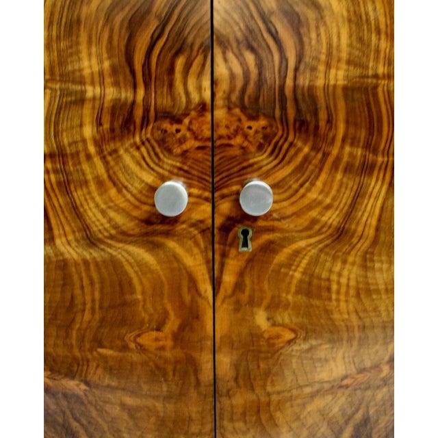 Mid-Century Italian Walnut Cabinets - A Pair - Image 4 of 9