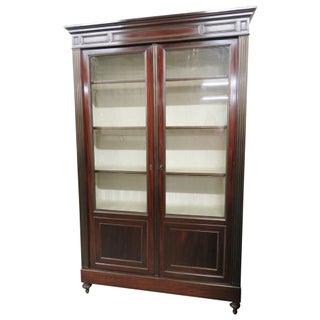 Louis XVI Style Directoire Style 2 Door Bookcase