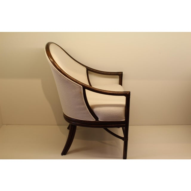 McGuire Orlando Diaz-Azcuy Aria Dining Arm Chair - Image 4 of 7
