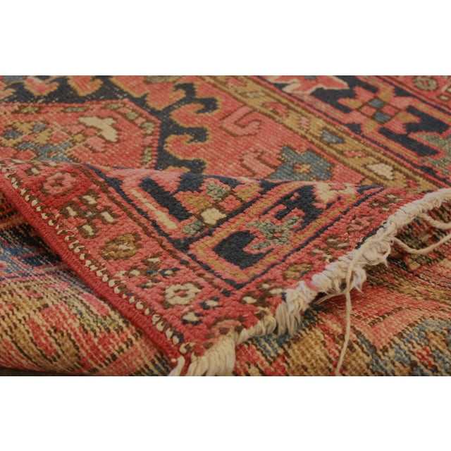 "Antique Apadana - Karajah Rug - 2'10"" X 4'5"" - Image 3 of 3"