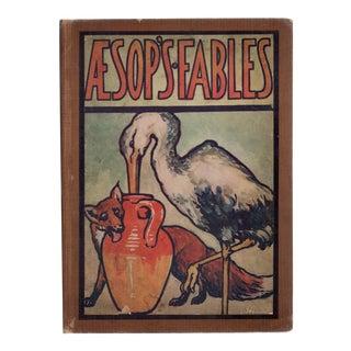 """1925 """"Aesop's Fables"""" Color Plates"""