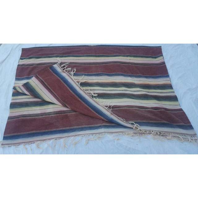 Mexican Serape Throws - A Pair - Image 3 of 4