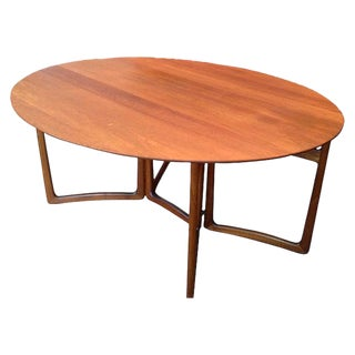 France & Daverkosen Danish Modern Drop-Leaf Table