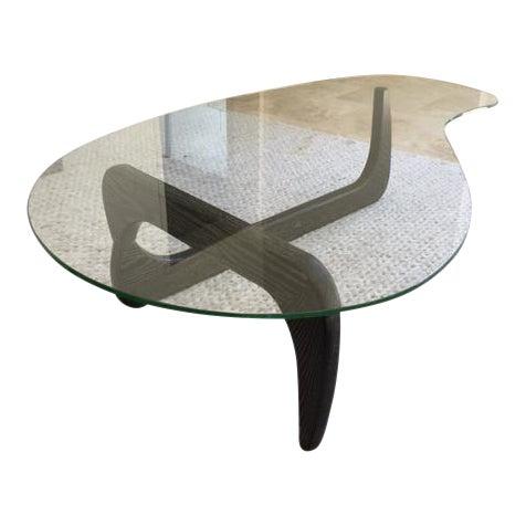 Noguchi Inspired Glass Coffee Table Chairish
