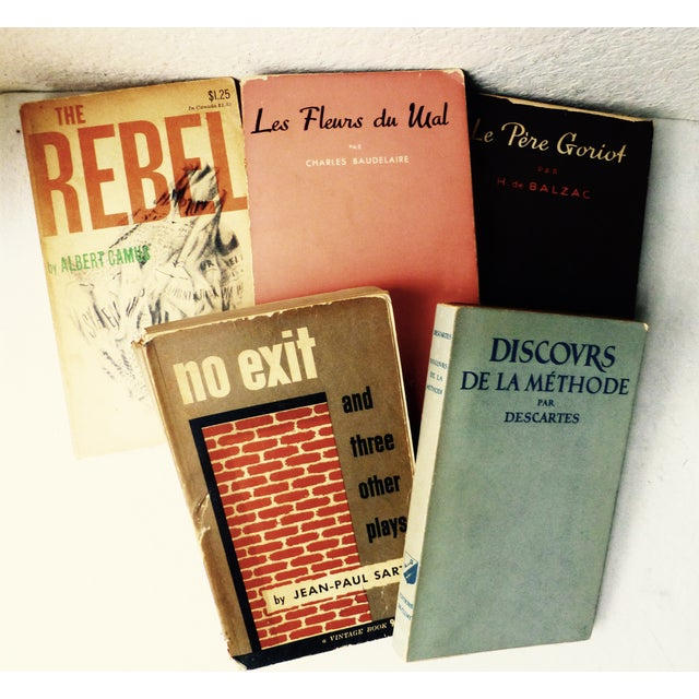 Vintage French Paperback Books - Set of 5 - Image 2 of 9