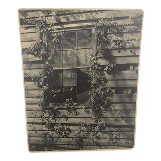 "Signed Vintage Ltd. Ed. Silver Gelatin Photo-Doris M. Weber - ""No Man's Castle"""