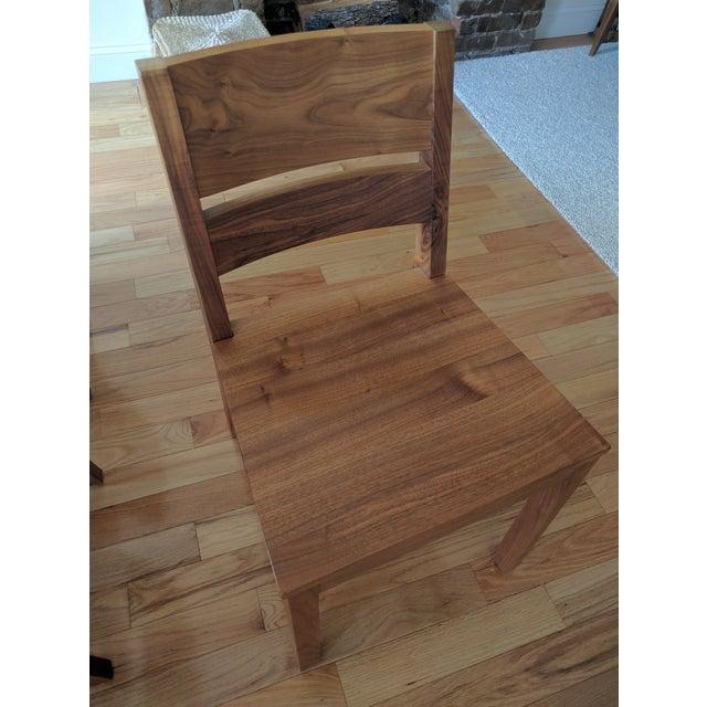 Room & Board Walnut Dining Table Set - Image 3 of 5