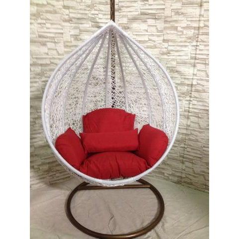 Single Wide Tear Drop Swing Chair - Image 2 of 7