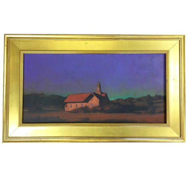 """Chapel on the Pond, North Truro"" Painting - Image 2 of 7"