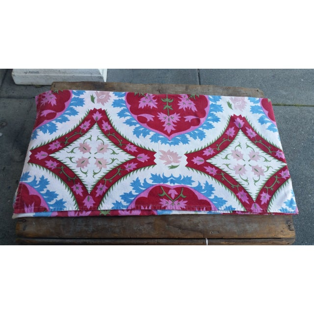 Image of Vintage Suzani Table Cover