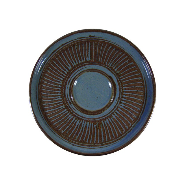 Image of Vintage Studio Art Pottery Platter