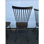 Image of 1950's Mid-Century Metal Dining Chairs - 6