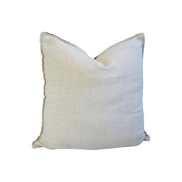 Image of Souvenir de Paris Silk Scarf Pillow
