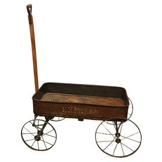 Antique Rustic Express Wagon