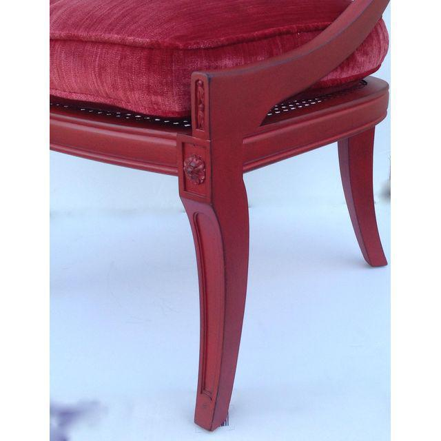 Hollywood Regency Spoon Back Chairs - A Pair - Image 8 of 10