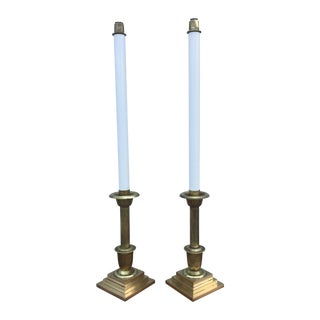 Altar Ware Brass Candle Holders - Pair