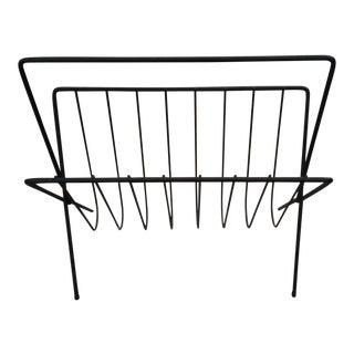 Mid-Century Arthur Urmnoff Style Magazine Rack