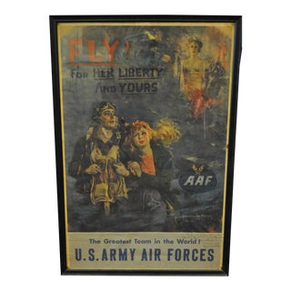 Howard Chanden Christy WWII Poster