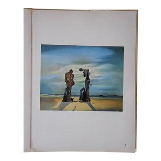 Vintage Surrealist Lithograph-Salvador Dali-France-1957