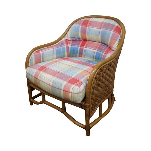 Image of Polo Ralph Lauren Rattan Lounge Club Chair