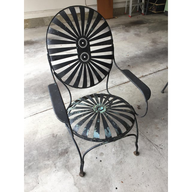 Image of Carre Double Sunburst Garden Chair
