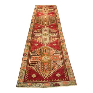 Bellwether Rugs Vintage Turkish Oushak Runner - 3'1x11'5""