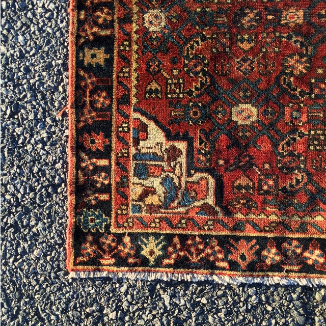 Hoseinabad Persian Rug - 3′ × 5′1″ - Image 7 of 10