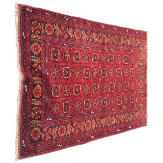 Vintage Turkaman Turkish Rug - 3′6″ × 5′2″