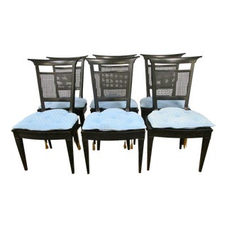 Black Kittinger Dining Chairs - Set of 6