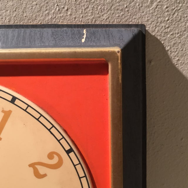Vintage Nesbitts Orange Soda Clock - Image 5 of 7