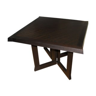 "Wendell Castle Sorcerer Table - Mottled Mahogany - 43"" X 43"" X 29.5"" (Changes Based on Display Options)"