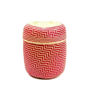 """Oaxaca Basket, """"Crimson Maze #1"""""""