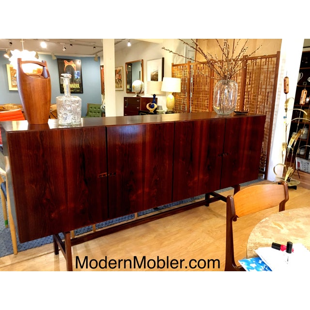 Ib Kofod-Larsen Danish Modern Rosewood Highboard - Image 2 of 10