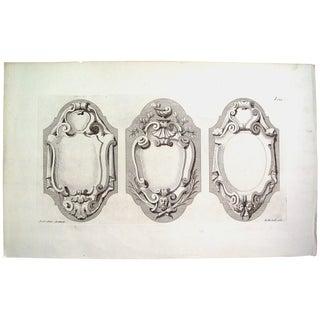 Antique 1728 Architectural Ornament English Print