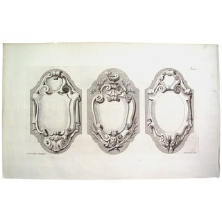 Antique 1728 Architectural Ornament English Print