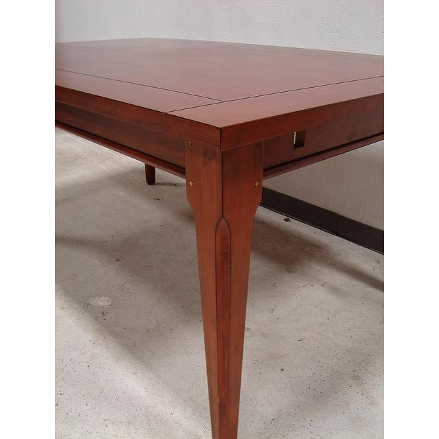 Broyhill Table with 2 Extension Leaves - Image 3 of 4