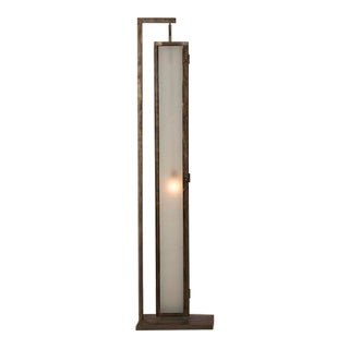 Vintage French Contemporary Floor Lamp Made Out of Steel