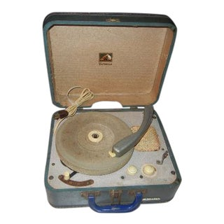 Vintage RCA Victor Record Player