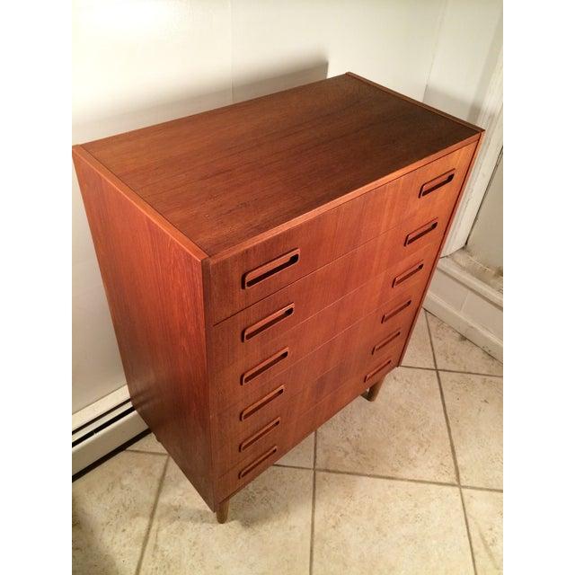 Danish Westergaard Mobelfabr Teak Highboy Dresser - Image 4 of 5