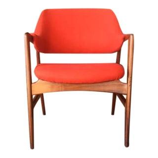 Mid-Century Danish Teak Arm Chair