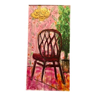 """Have a Seat People"" Original Painting by Jj Justice"