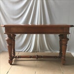 Image of Transitional Wooden Console