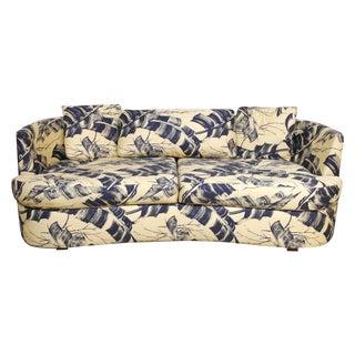 Selig Mid-Century Kidney Sofa & Ottoman