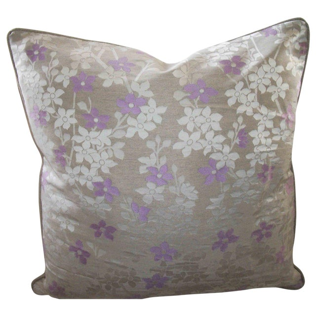 Nicotiana Accent Pillows - A Pair - Image 1 of 2