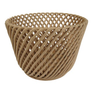 Woven Terracotta Basket
