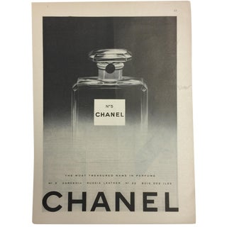 Vintage Classic Chanel Ad, 1940s