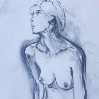"""""""Suzy"""" Nude Drawing"""